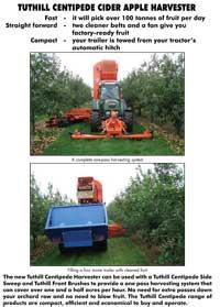 Centipede Apple Harvester