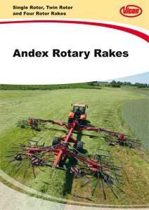 Andex Rotary Rakes