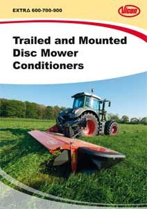 Disc Mower Conditioners