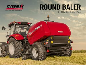 Round Baler RB 545 Silage Pack