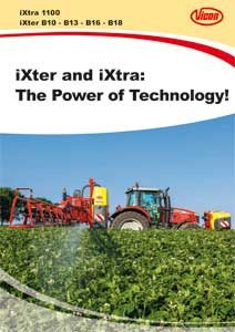 Ixter Ixtra Spray Booms