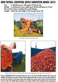 Tuthill Model 2015 Apple Harvester