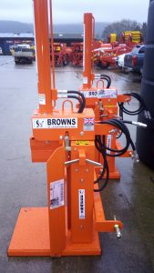New 10T Log Splitter (hydraulically operated)