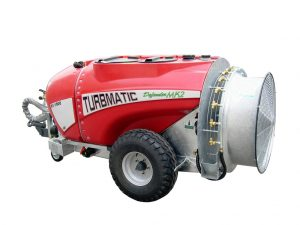 TURBMATIC DEFENDER MK2 1500 litre Trailed Air Mist Orchard sprayer