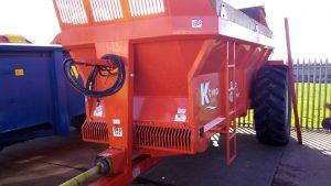 Rear Discharge muck spreader hire (Herefordshire)