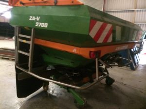 AMAZONE ZA-V 2700 fertiliser spreader Profis