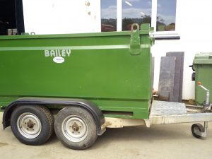 Bailey diesel bowser 2000 litres