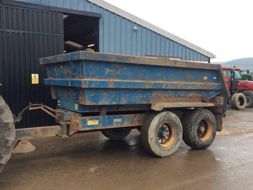 NC 316 dump trailer 1