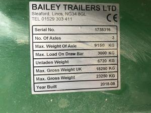 2018 Bailey Bale Trailer 2