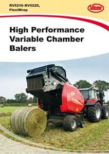 Variable Chamber Baler RV5100 5200