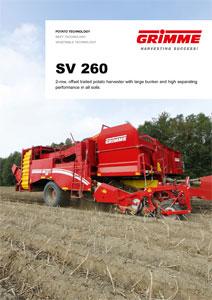 Bunker Harvester SV 260