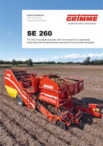 Harvester SE 260 2 Row