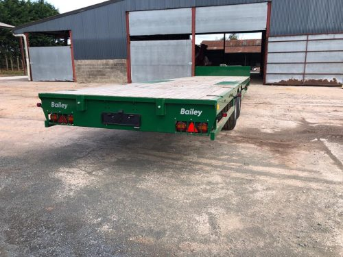 Bailey 15ton Flatdeck Low Loader 3