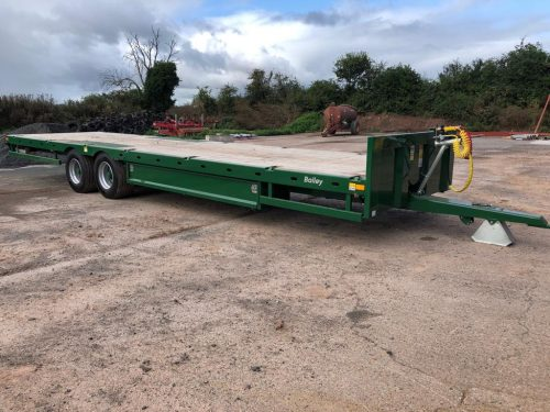 Bailey 15ton Flatdeck Low Loader