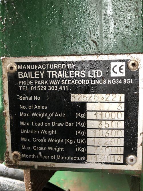 Bailey TB22 Trailer 5